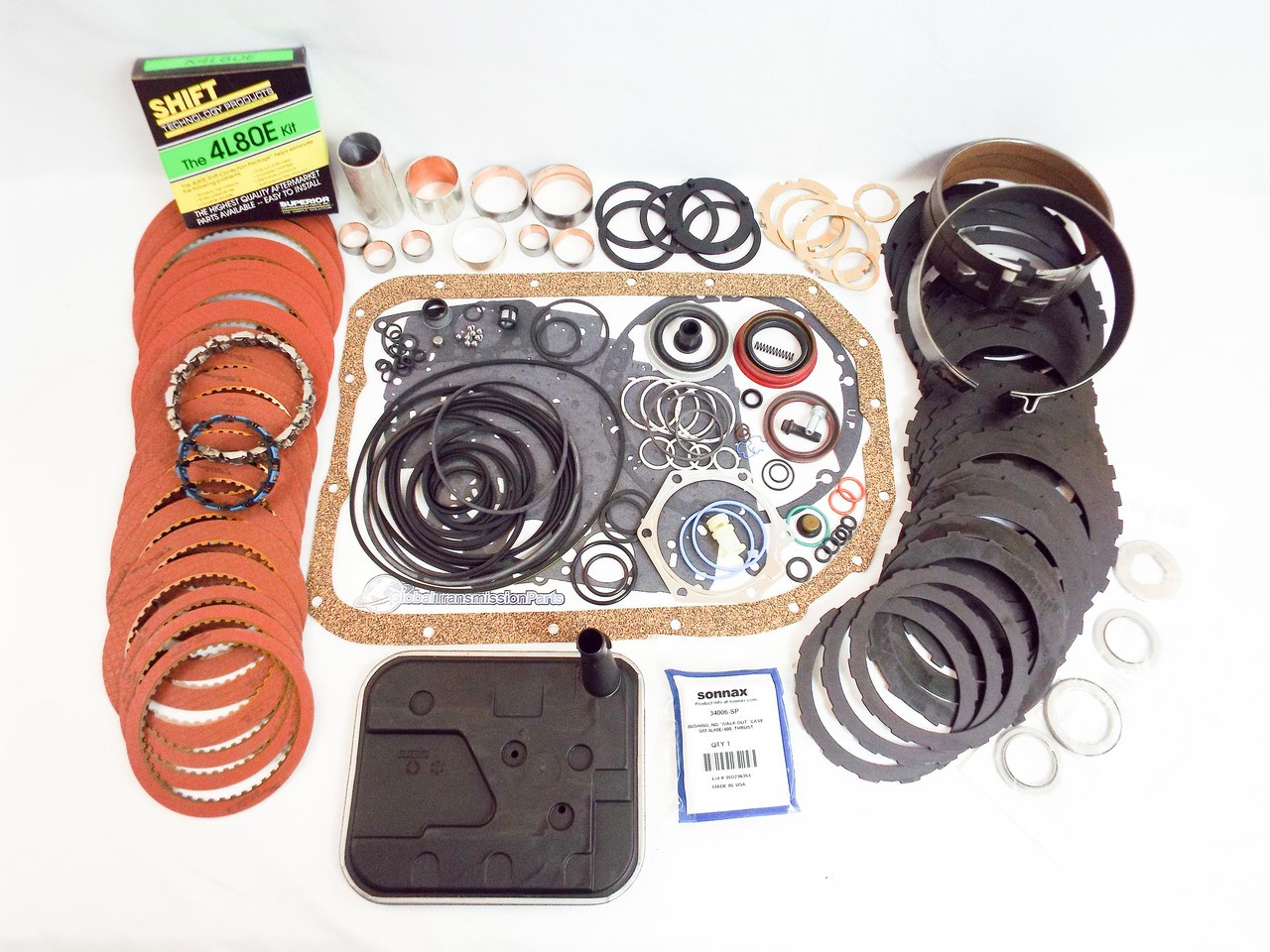 4l80e loaded super master rebuild kit with tons of upgrades