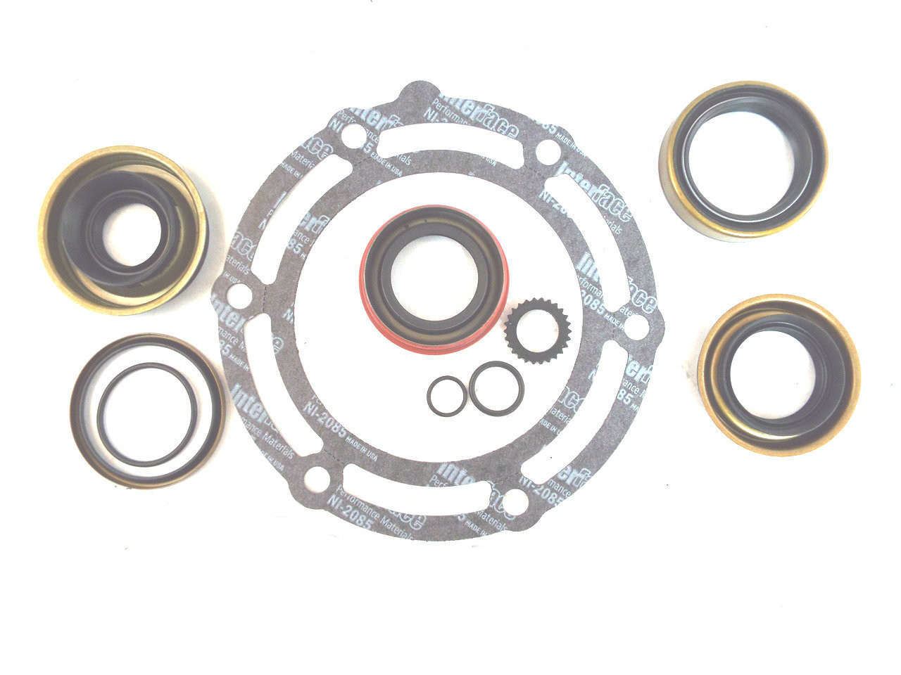 New Process NP231/C Transfer Case Gasket & Seal Overhaul Kit (1981-2000)  Jeep