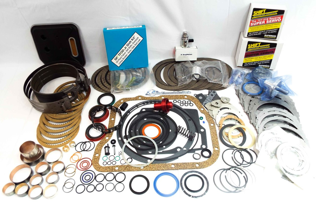 A518 A618 46RE|RH 47RE|RH Super Master Rebuild Kit w/ Transgo Shift Kit