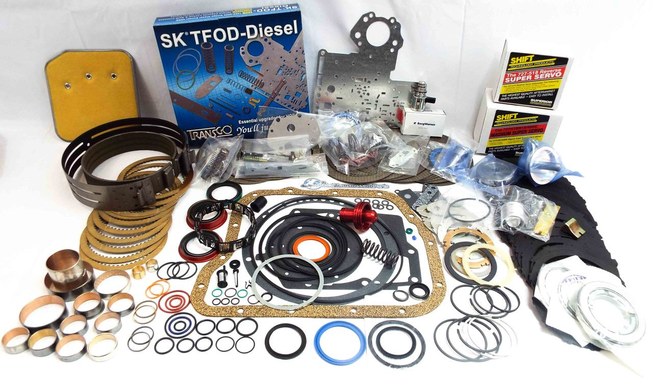 A518 A618 46RE|RH 47RE|RH Super Master Rebuild Kit w/ TransGo Shift Kit &  Magnum Servo