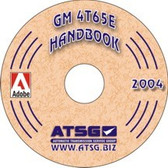 4T65E ATSG Tech Service Rebuild Manual - CD