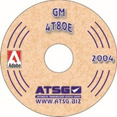 4T80E ATSG Tech Service Rebuild Manual - CD