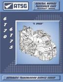 6T70 6T75 ATSG Tech Service Rebuild Manual