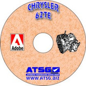 62TE ATSG Tech Service Rebuild Manual - CD