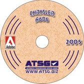 A606 42LE ATSG Tech Service Rebuild Manual - CD