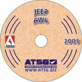 AW4 ATSG Tech Service Rebuild Manual - CD