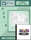 722.6 NAG-1 ATSG Tech Service DVD & Companion Manual