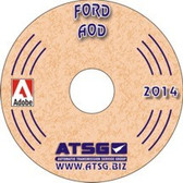 AOD ATSG Tech Service Rebuild Manual - CD