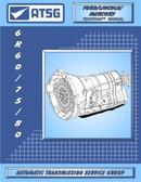 6R60 6R80 ATSG Tech Service Rebuild Manual