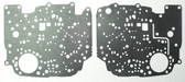 TH350 Valve Body Separator Plate Gasket Set (1969-1980) Upper & Lower w/o Lock Up