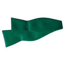 New Emerald Green Self Tie Bow TIe