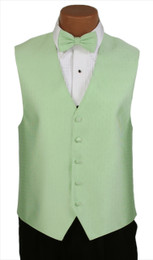 "Ralph Lauren ""Vineyard"" Vest and Bow Tie in Pistachio"