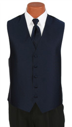 "Ralph Lauren ""Vineyard"" Vest and Long Tie in Midnight"