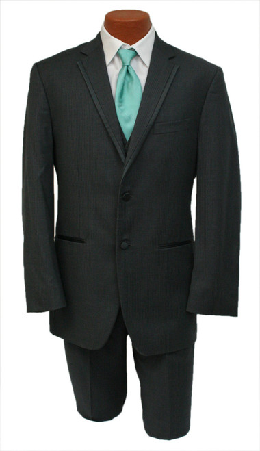 """Gray Striped Kingston"""" 2 -Piece (Jacket and Pants)"""