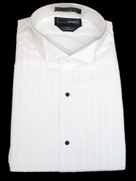 1/2 Pleat Wing Tip Shirt