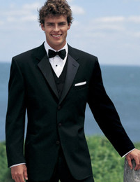 Traditional Black Prom Tuxedo