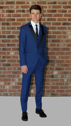 Cobalt Blue West End Slim Fit Tuxedo