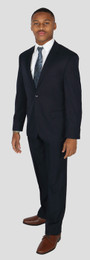 Navy 2 Piece Suit Jacket and Pants