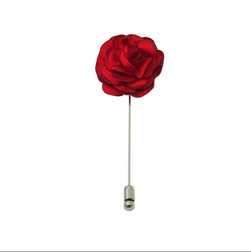 Handmade  Lapel Pin Polyester and metal