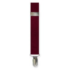 New Burgundy Suspenders