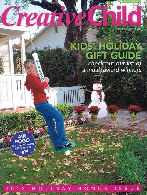 Creative Child Magazine Kids' Holiday Gift Guide Bonus Issue 2013