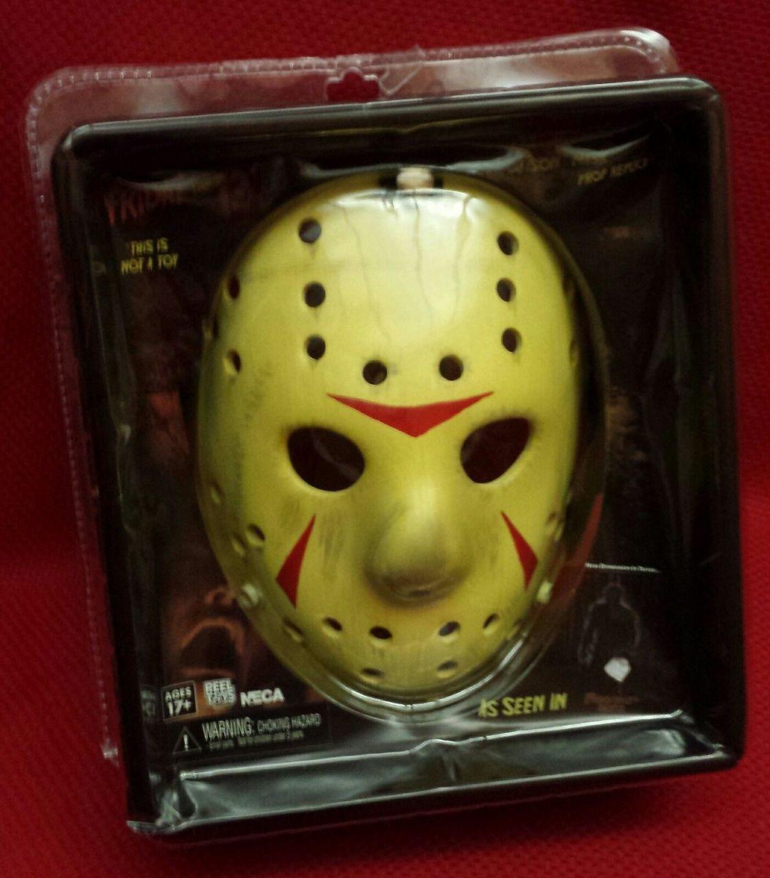 Neca 39779 Jason Friday The 13th Part 3 Mask Prop Replica