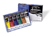 371216, Artisan Water Mixable Oil, Beginner Set, 6x37ml.