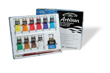 371217, Artisan Water Mixable Oil, Studio Set, 10x37ml.