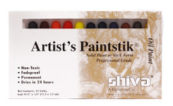 370902, Shiva Painstik, Professional Set, 12/colors