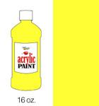 376002, Handy Art Acrylic, Chrome Yellow, 16oz.