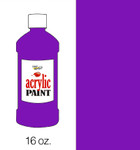 376015, Handy Art Acrylic, Violet, 16oz.