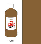 376017, Handy Art Acrylic, Burnt Umber, 16oz.