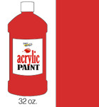 376127, Handy Art Acrylic, Phthalo Red, 32oz.