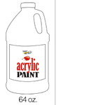 376040, Handy Art Acrylic, Titanium White, 64oz.