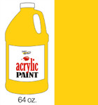 376044, Handy Art Acrylic, Deep Yellow, 64oz.
