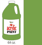 376049, Handy Art Acrylic, Green Oxide, 64oz.