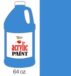 376051, Handy Art Acrylic, Cobalt Blue, 64oz.