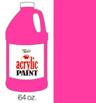 376054, Handy Art Acrylic, Magenta, 64oz.