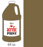 376059, Handy Art Acrylic, Raw Umber, 64oz.