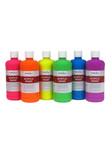 376062, Handy Art Acrylic Set, Fluorescent, 6x16oz.