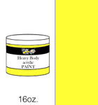 383104, Handy Art Heavy Body Acrylic, Chrome Yellow, 16oz.