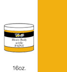 383127, Handy Art Heavy Body Acrylic, Raw Sienna, 16oz.