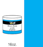 383132, Handy Art Heavy Body Acrylic, Primary Cyan, 16oz.