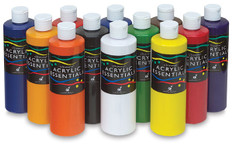 373035, Chromacryl Acrylic Essentials Set, 12x16oz