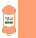 381015, Handy Art Tempera, Peach, 32oz.