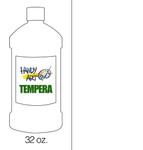 381016, Handy Art Tempera, White, 32oz.