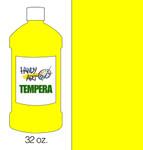 381017, Handy Art Tempera, Yellow, 32oz.