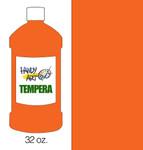 381018, Handy Art Tempera, Orange, 32oz.