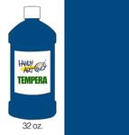 381022, Handy Art Tempera, Blue, 32oz.