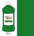 381025, Handy Art Tempera, Green, 32oz.